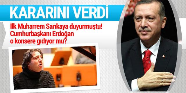 Cumhurbaşkanı Erdoğan, Fazıl Say'ın konserine gidiyor mu?