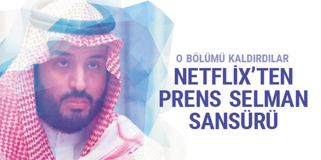 Netflix'ten prens Selman sansürü
