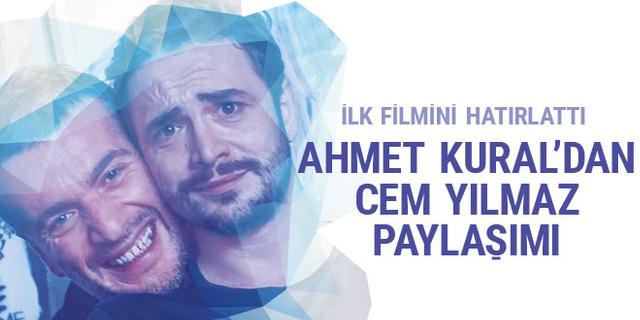 Ahmet Kural'dan 'Cem Yılmaz' paylaşımı