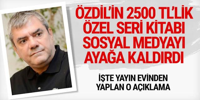 Yılmaz Özdil'in özel seri Mustafa Kemal kitabının fiyatı şoke etti