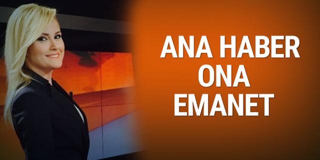 TRT Ana haber artık ona emanet