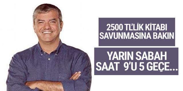 Yılmaz Özdil'den 2500 liralık Mustafa Kemal kitabı eleştirilerine cevap