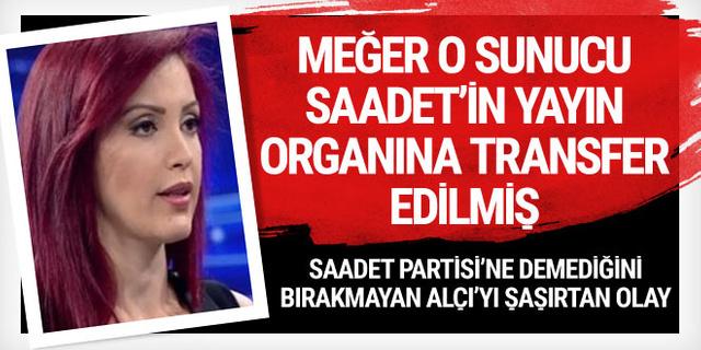 Nagehan Alçı duyunca şaştı kaldı! O sunucu Saadet'in yayın organına transfer edilmiş