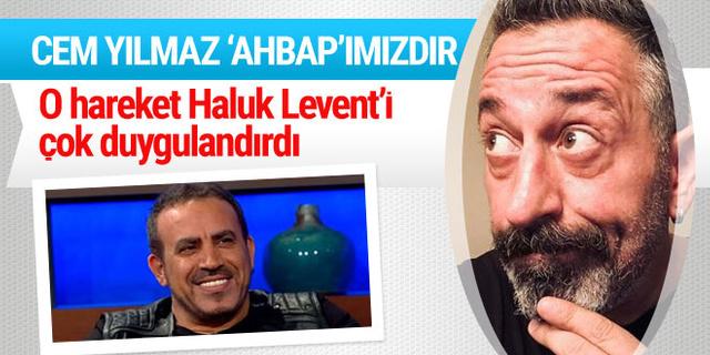 Haluk Levent'i o hareket çok duygulandırdı! 'Cem Yılmaz AHBAP'ımızdır'