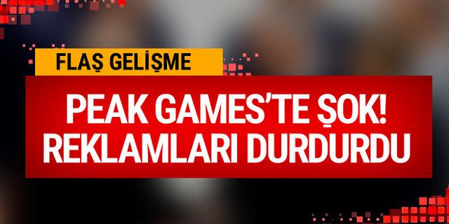 Peak Games'te şok! Reklamlarını durdurdu!