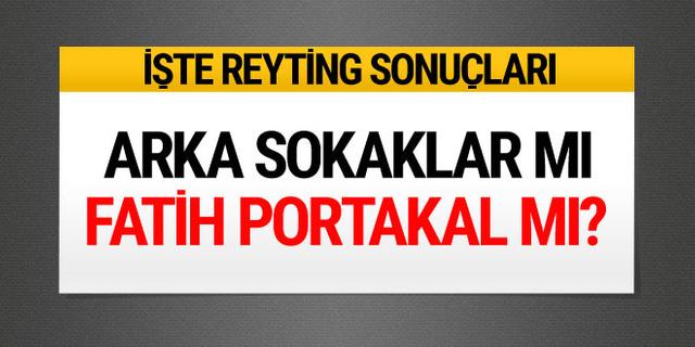 Arka Sokaklar, Fatih Portakal, İstanbullu Gelin lider kim? 15 Mart reyting sonuçları