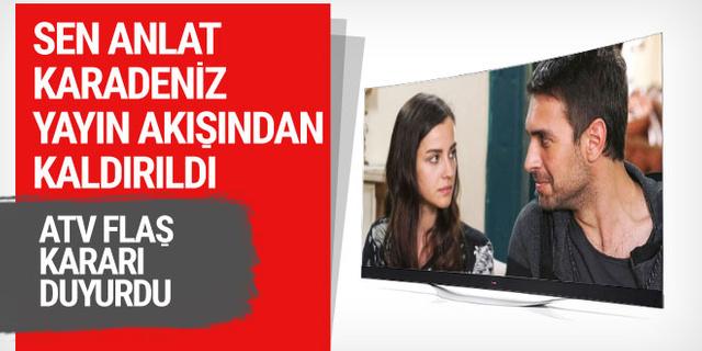 Sen Anlat Karadeniz yayın akışından kaldırıldı! ATV yeni kararı duyurdu