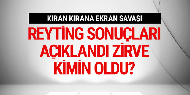 Milli maç mı, Çukur mu, Fatih Portakal mı? Reyting yarışı nasıl bitti?