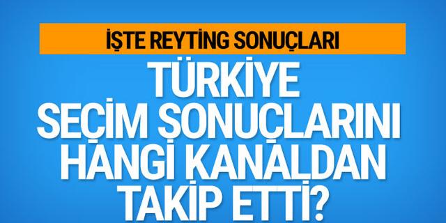 Türkiye seçim sonuçlarını hangi kanaldan takip etti? 31 Mart reyting sonuçları