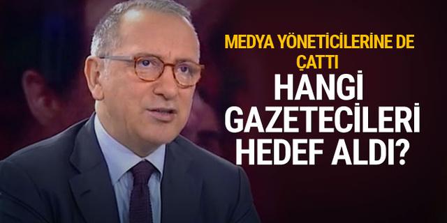 Fatih Altaylı'dan zehir zemberek yazı! Hangi gazetecileri hedef aldı?