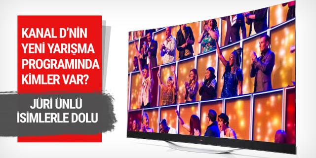 Kanal D'den yeni yarışma programı! Jüri ünlü dolu!
