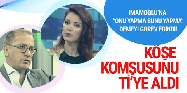 Fatih Altaylı'dan Nagehan Alçı'ya: İmamoğlu'na seçime girme diyecekti ama...