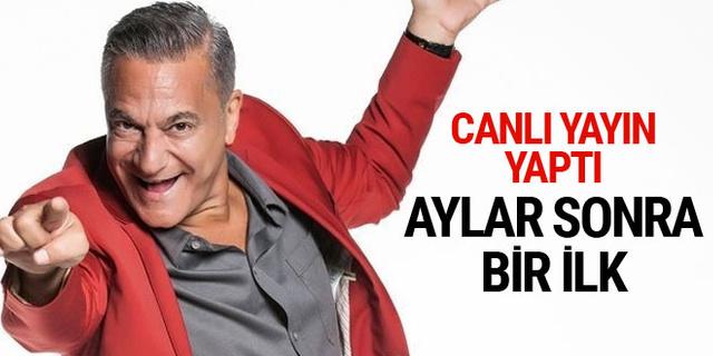 Mehmet Ali Erbil'den aylar sonra bir ilk! Canlı yayın yaptı