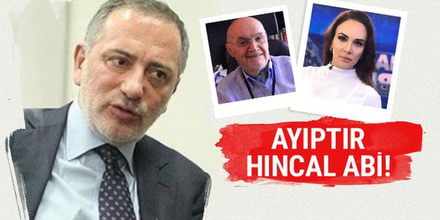 Fatih Altaylı'dan Hıncal Uluç Buket Aydın polemiğine yorum