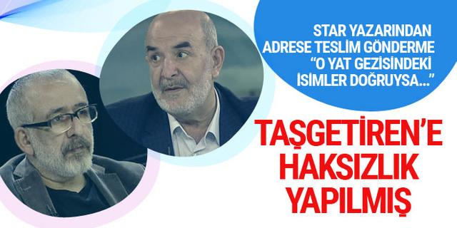 Ahmet Kekeç'ten gönderme: Ahmet Taşgetiren'e haksızlık yapılmış!