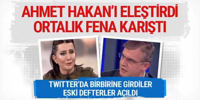 Sevilay Yılman Ahmet Hakan'ı eleştirdi, ortalık karıştı!