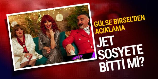 Gülse Birsel'den Jet Sosyete için final ve yeni sezon açıklaması!