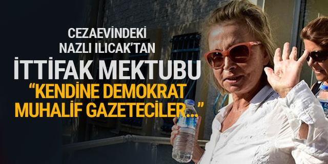 Nazlı Ilıcak'tan Türkiye İttifakı mektubu! Fuat Uğur yayınladı...