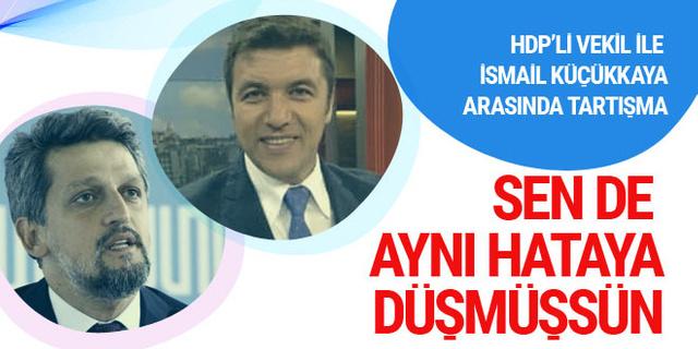 HDP'li Garo Paylan ile İsmail Küçükkaya arasında kadın moderatör tartışması