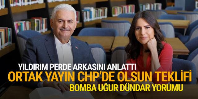 Binali Yıldırım'dan ortak yayın CHP'de olsun teklifi!