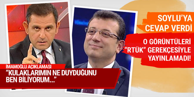 Fatih Portakal'dan Ekrem İmamoğlu açıklaması: Hakaret ettiği cümleleri duydum