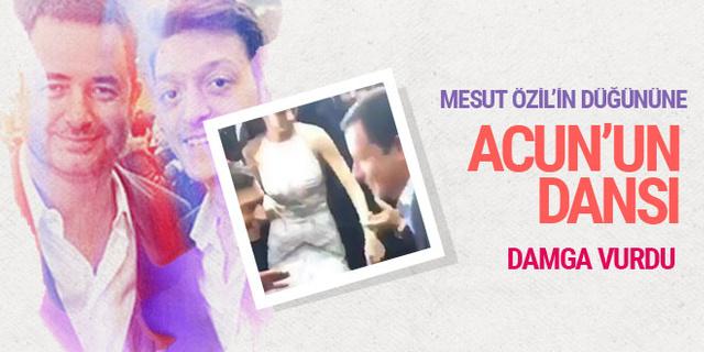 Mesut Özil'in düğününe Acun Ilıcalı dansı damga vurgu