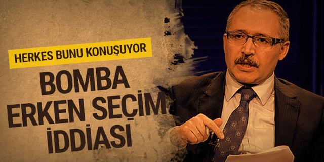 Abdulkadir Selvi'den bomba seçim iddiası!