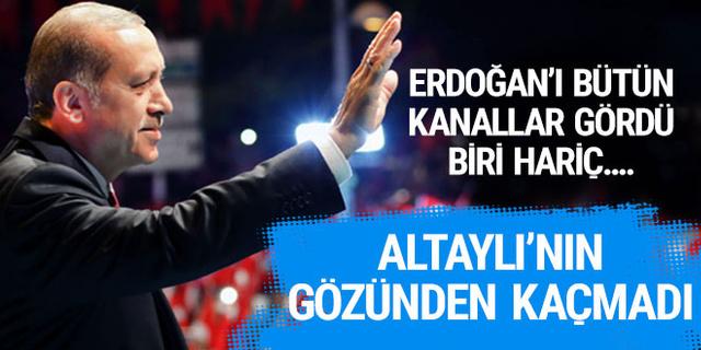 Fatih Altaylı'nın gözünden kaçmadı! 15 Temmuz gecesi Erdoğan'ı hangi kanal görmedi?