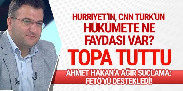 Cem Küçük topa tuttu: Hürriyet'in hükümete ne faydası var!