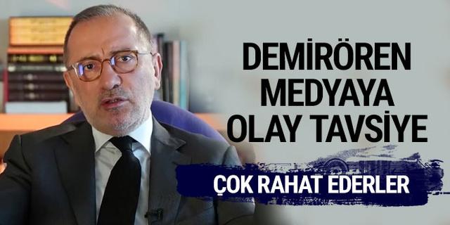 Fatih Altaylı'dan Demirören Medya'ya tavsiye!