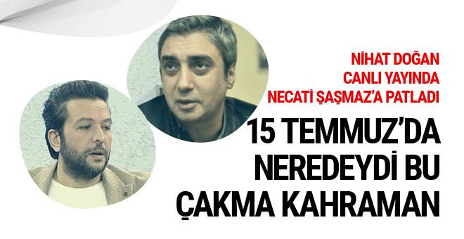 Nihat Doğan canlı yayında Necati Şaşmaz'a fena patladı