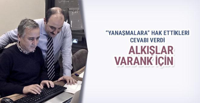 Alkışlar Mustafa Varank için...