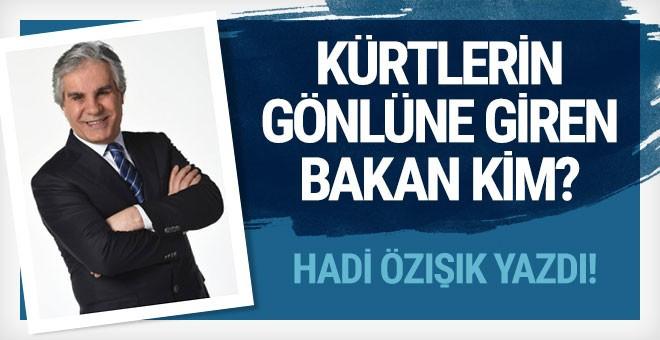 Süleyman Soylu Kürtler'in kalbine giden yolda yürüyor!