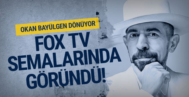 Okan Bayülgen, Fox TV semalarında görüldü...