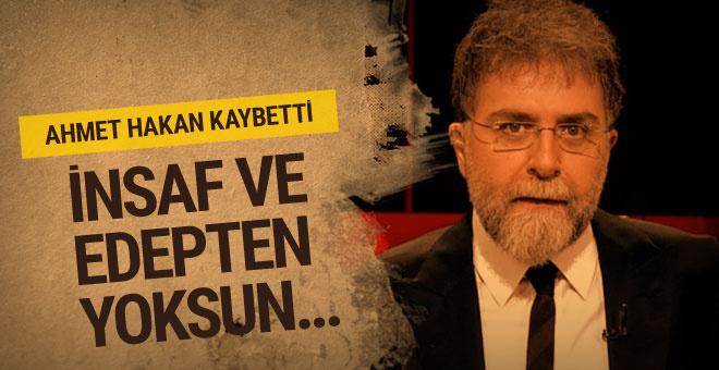 Ahmet Hakan kaybetti