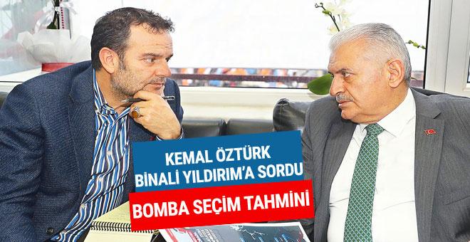 Kemal Öztürk'ten bomba seçim tahmini!