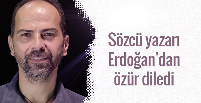 Nasuh Mahruki Erdoğan'dan özür diledi