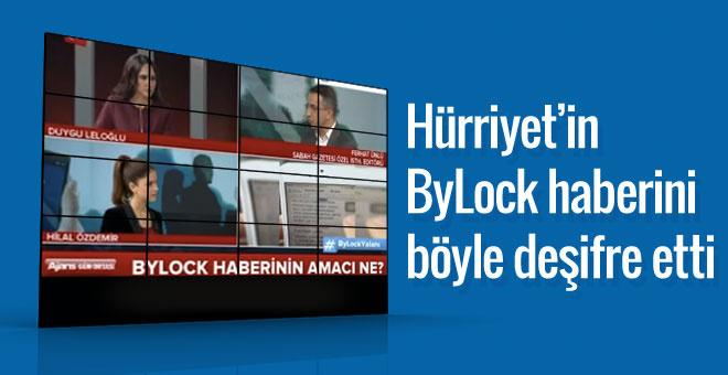 Hürriyet'in ByLock haberini böyle deşifre etti!