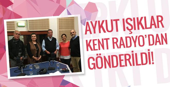 Aykut Işıklar, TRT Kent Radyo'dan gönderildi