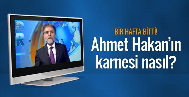Ahmet Hakan'ın 1 haftalık Kanal D karnesi nasıl?