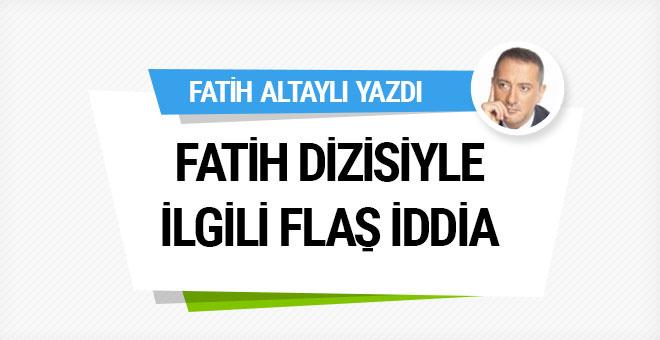 Fatih Altaylı'dan Fatih dizisiyle ilgili flaş iddia!