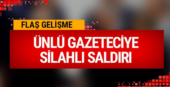 Ali Tarakçı'ya silahlı saldırı