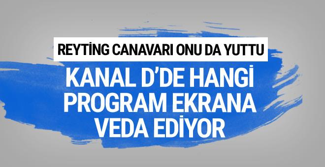 Kanal D'nin hangi programı reyting canavarına yenildi?