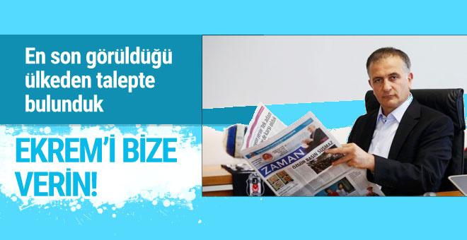 Zaman Gazetesi eski yönetmeni için iade talebi