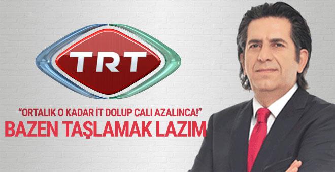 TRT Haber Daire Başkanı: Çalıyı dolaşmak yerine bazen itle dalaşmak lazım