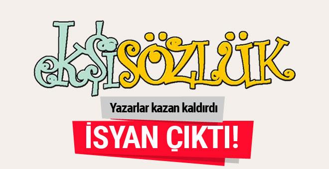 Ekşi Sözlük'te yazarlar yönetime boykot başlattı...