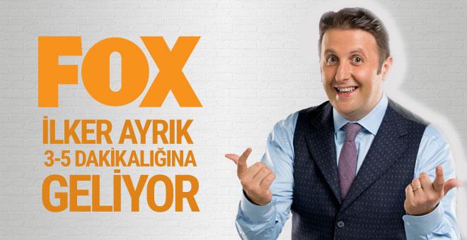 İlker Ayrık, Fox TV ile ekrana geri dönüyor...