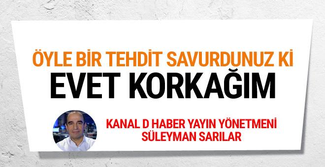 Kanal D Haber'in patronundan Hıncal Uluç'a 'korkak' cevabı