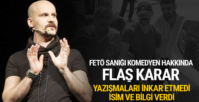 FETÖ'den tutuklu komedyen Atalay Demirci tahliye oldu