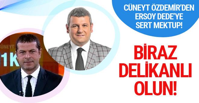 Cüneyt Özdemir'den Ersoy Dede'ye 'kol saati' tepkisi...